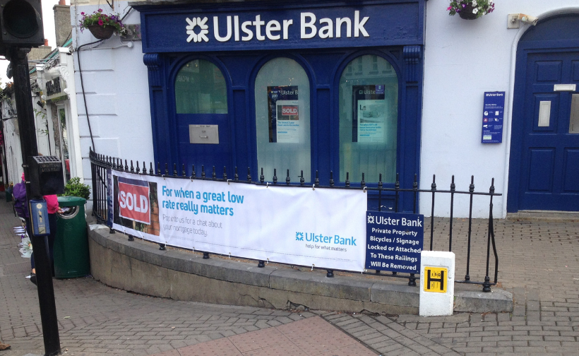 Ulster Bank Banner