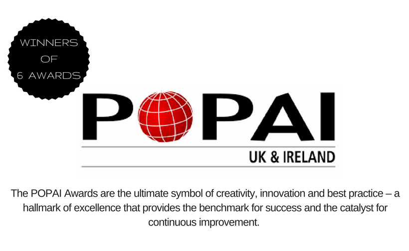 P+D POPAI Award Winners